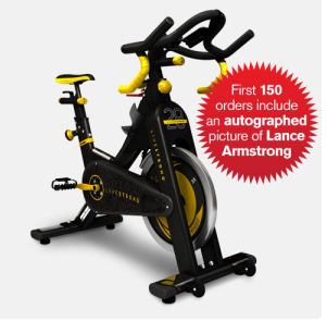 Livestrong spinning indoor cycling bike