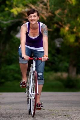 Breath Denver Indoor Cycling Studio Owner Sara TV Russel  Living The Life