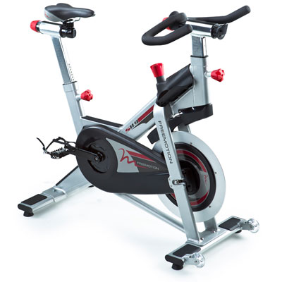 Free Motion Indoor Cycling Bike with power - watts