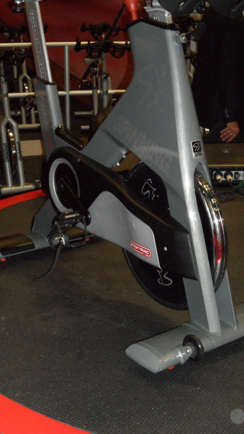Spinner Blade indoor cycling bike from spinning star trac