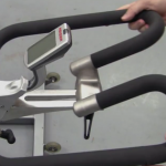 Keiser M3 indoor cycle adjustable handlebars