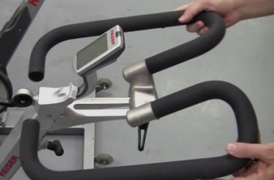 Keiser M3 indoor cycle adjustable handlebars