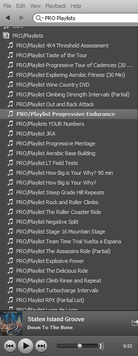 Spotify Spin Class Playlist Music from indoorcycleinstructor.com