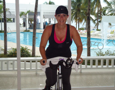 teaching spinning class in jamaica
