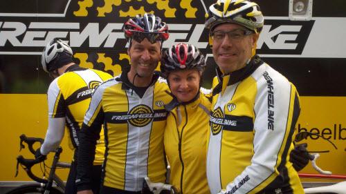 Freewheel Bike MS150 team