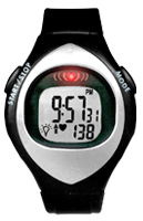 Two Button Blink Digital Heart Rate Monitor