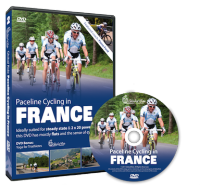 Paceline cycling in France Indoor DVD Video