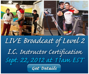 online indoor cycling instructor certification