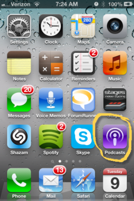 New Podcast App replaces iTunes