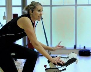 Spinning Instructor Kristen Dillon