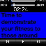 Adding cues to an iTunes playlist on your iPhone or iPad