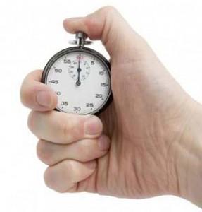 rest interval stop watch