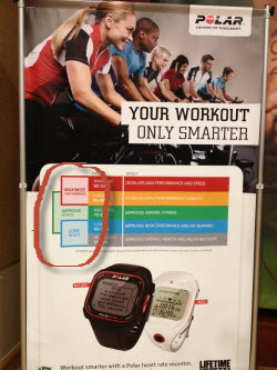 Polar Three Heart Rate Zone System