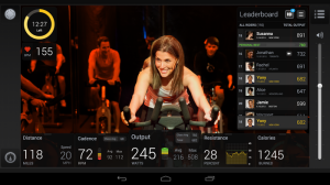 peloton streaming video classes for home training