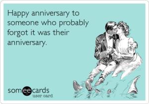 forgot my anniversary