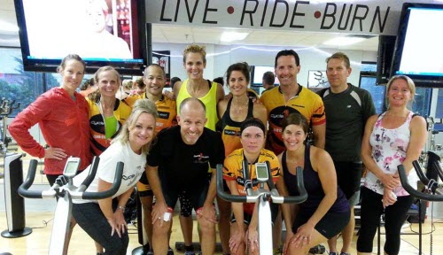 Cycle Quest Instructors with Dara Torres