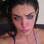 Crying tears of…mascara?