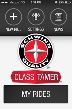 Schwinn Class Tamer iPhone Music App