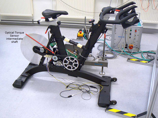 IC7 indoor cycle testing