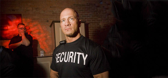 Do you need a bouncer outside your fitness studio?