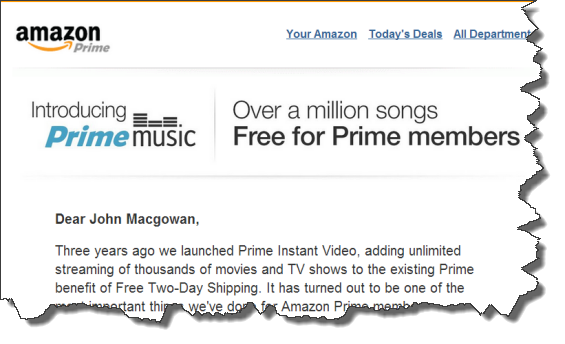 Amazon Prime Streaming Music Review