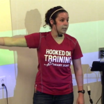 Zoning Indoor Cycling Video Profile featuring Tia Kilpatrick