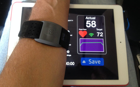 Scosche RHYTHM+ Heart Rate Monitor Strap ANT+ BLE