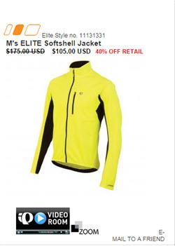 Discount pearl iZumi cycling clothing