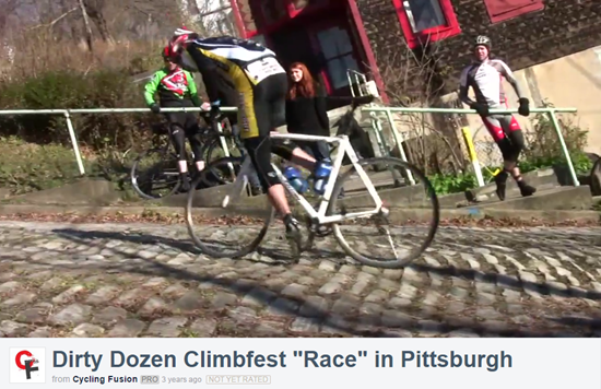 Dirty Dozen Climbing Race Video in Pittsburgh