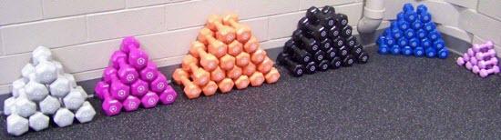 Yep, I'm teaching another class where we're using weights!