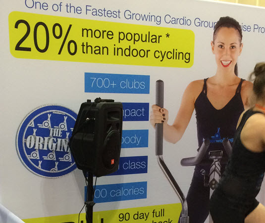 There was some self-delusion to go along with lots of new fitness products and services.