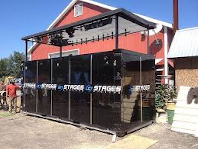 Stages booth