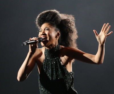 Judith Hill in 2013 at Target Center/ Star Tribune photo by Kyndell Harkness