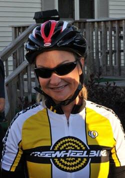 Amy Macgowan Cyclist