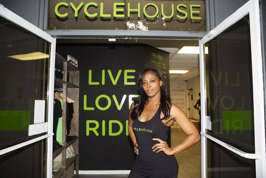 Nichelle Hines. Cycle House's CRO (Chief Ride Officer) -- image credit la.racked.com/