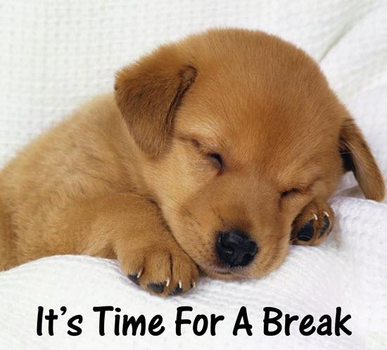 When it time break