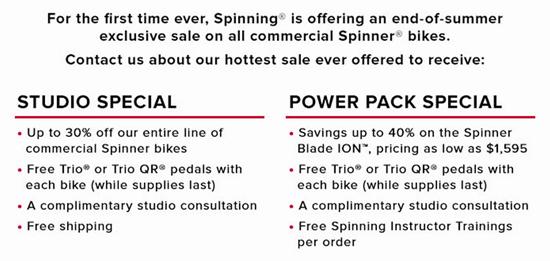 spinner bike fire sale