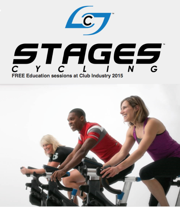 Join Stages Cycling at Club Industry 2015 Next Thursday, October 8th, for FREE Training from the Company that KNOWS POWER!