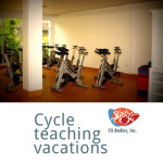 teach spinning on vacation