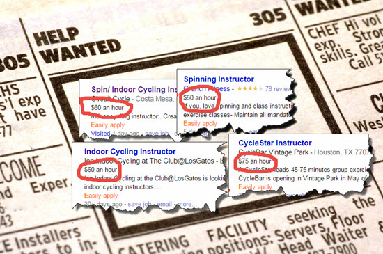 Indoor Cycling Instructors get a raise