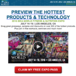 Get a FREE Expo Pass for IDEA World 2016