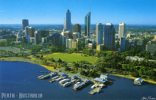 Looks like a beautiful city. Image from