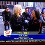 CycleBar Fitness Instructor Jobs Fair on Fox & Friends This Morning