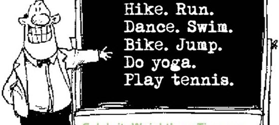 Why Exercise Shouldn't Be Just One Thing
